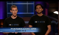 Ryan Frankel And Kunal Sarda On Shark Tank (200x119)